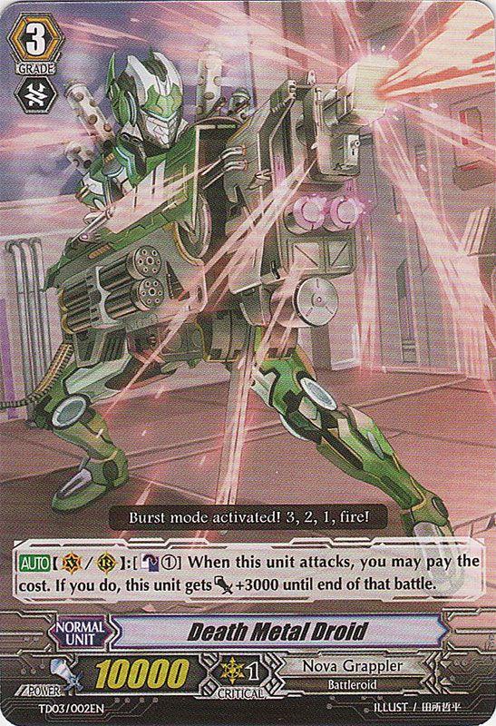 TD03/002EN Death Metal Droid Commune (C)