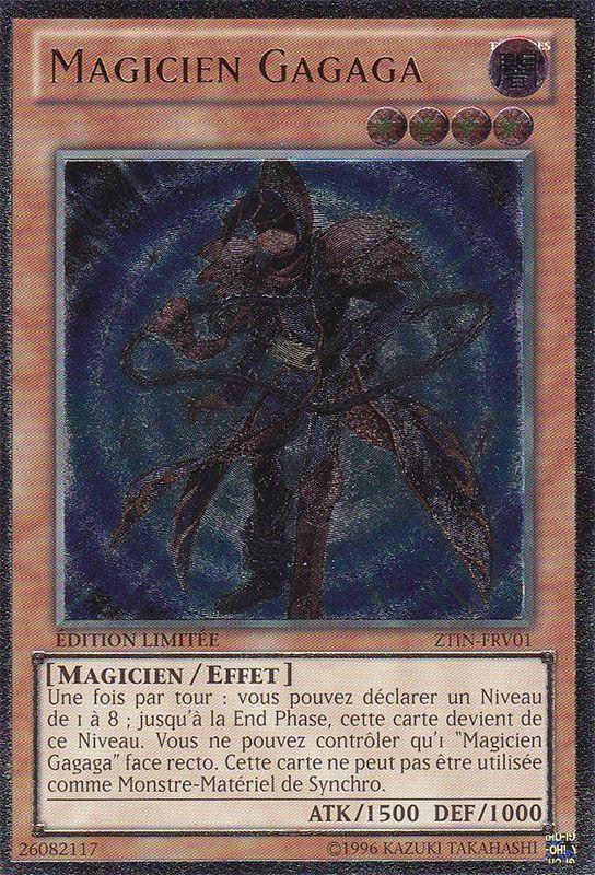 ZTIN-FRV01 Magicien Gagaga Ultimate Rare