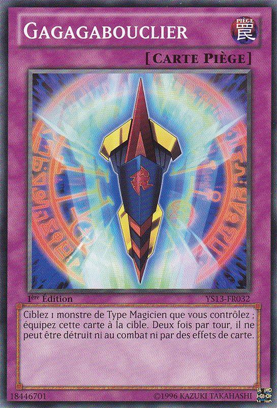 YS13-FR032 Gagagabouclier Commune