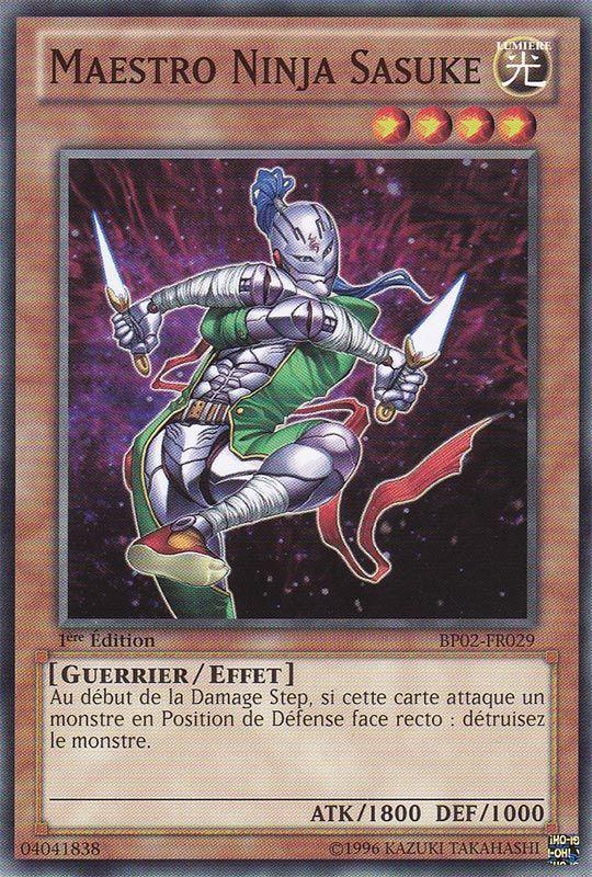 BP02-FR029 Maestro Ninja Sasuke Commune