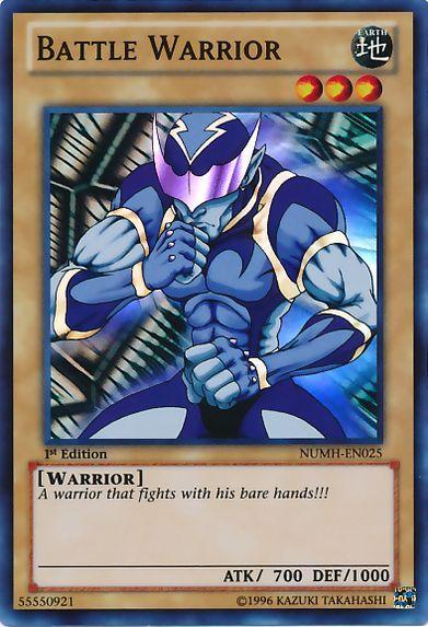 NUMH-EN025 Battle Warrior Super Rare