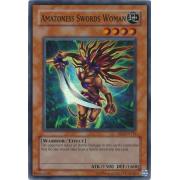 DR1-EN116 Amazoness Swords Woman Super Rare