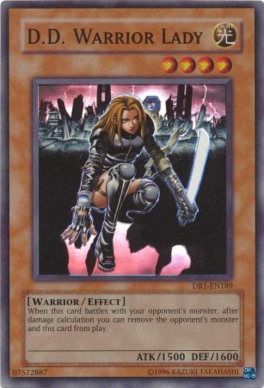 Lcyw En215 D D Warrior Lady