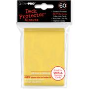 60 protèges cartes jaune