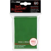 60 protèges cartes vert