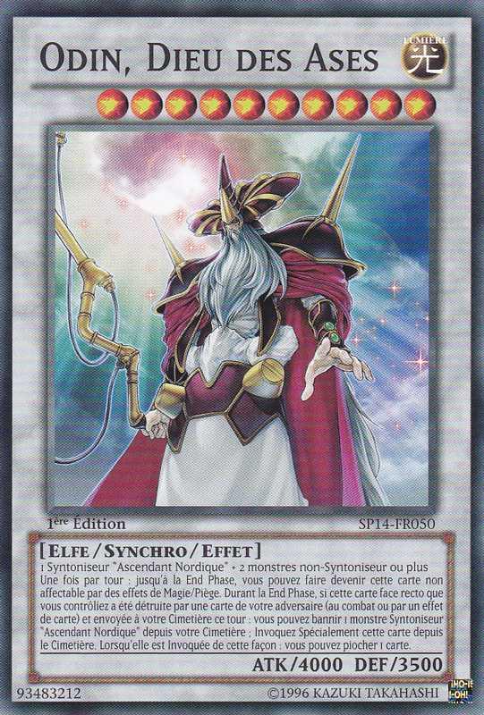 SP14-FR050 Odin, Dieu des Ases Commune
