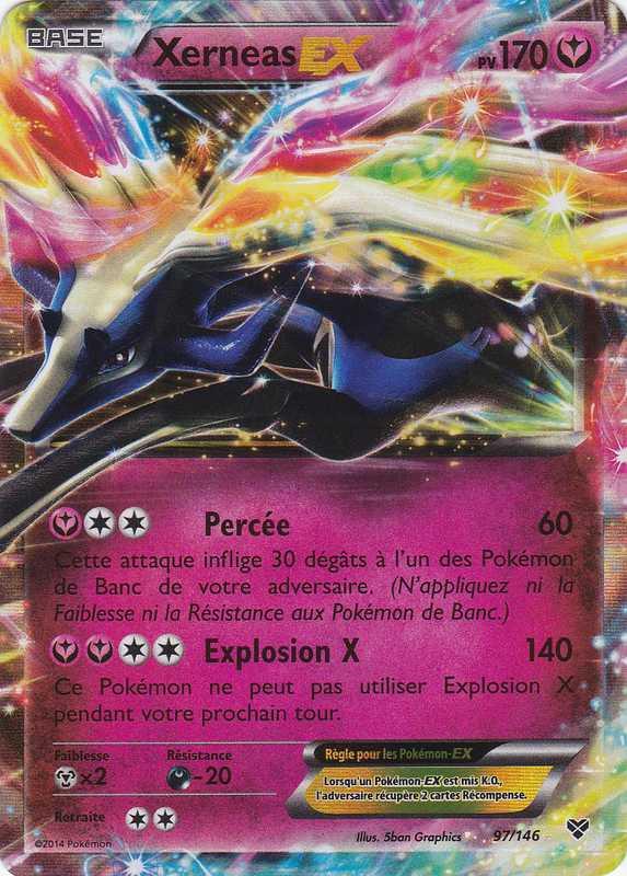 pokemon xerneas card