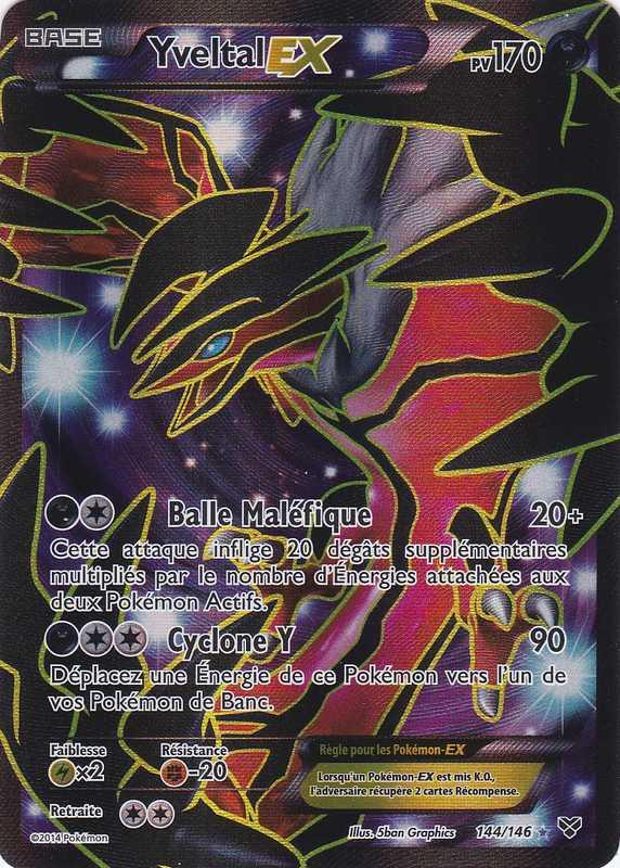 Xy1 144 146 yveltal ex - Carte pokemon a imprimer gratuitement ex ...
