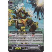 BT13/014EN Dimensional Robo, Daishield Double Rare (RR)