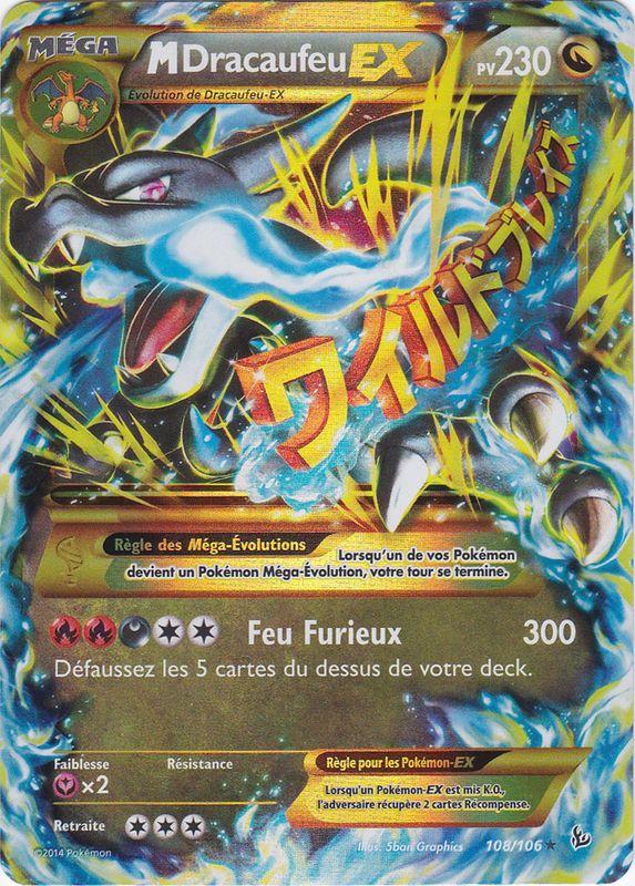 Xy2 108 106 m ga dracaufeu ex - Pokemon dracaufeu ex ...