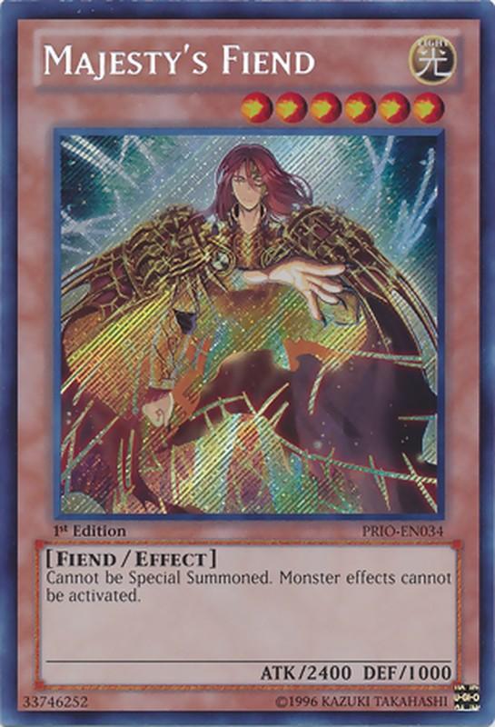 PRIO-EN034 Majesty's Fiend Secret Rare