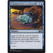 Transformation en grenouille