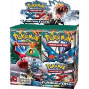 Boite de 36 Boosters Pokémon XY 3 Poings Furieux