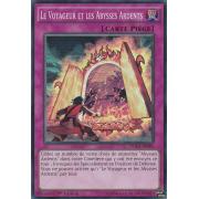 DUEA-FR086 Le Voyageur et les Abysses Ardents Super Rare