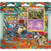 Pack 2 Boosters Pokémon XY 3 Poings Furieux - Version Desséliande