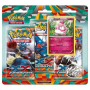 Pack 2 Boosters Pokémon XY 3 Poings Furieux - Version Cupcanaille
