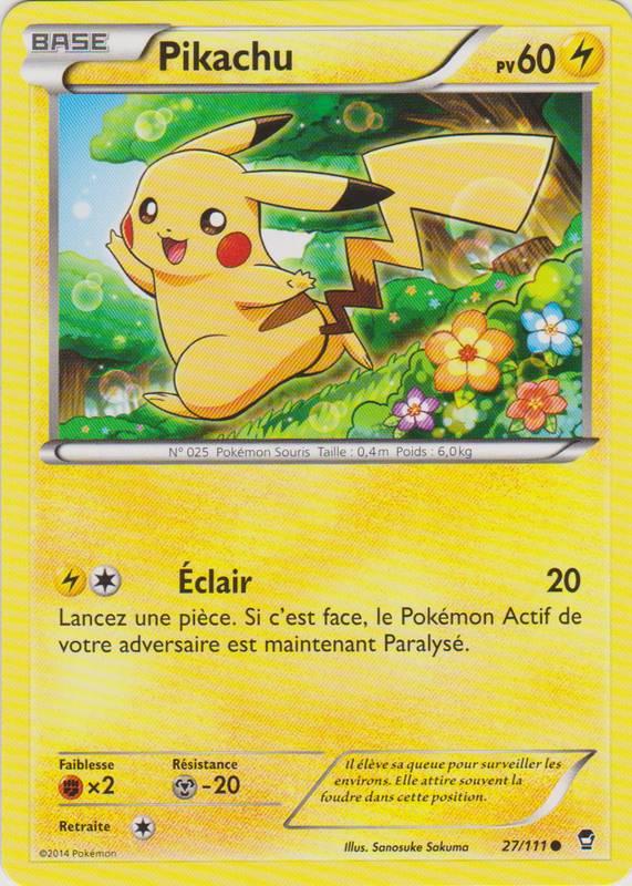 XY3_27/111 Pikachu Commune