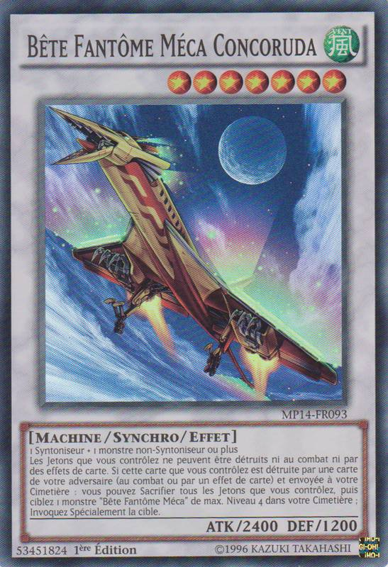 Yu-Gi-OH Bete Fantome Meca O-Lion PRIO-FR026 1st