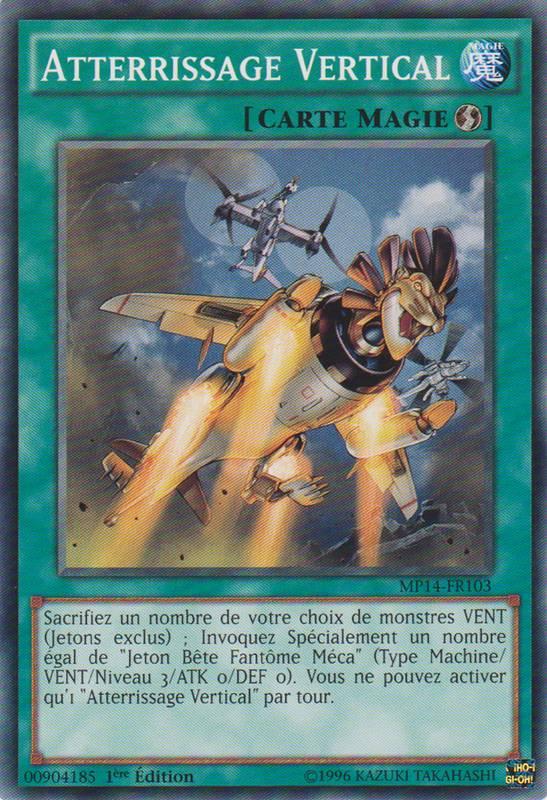 MP14-FR103 Atterrissage Vertical Commune