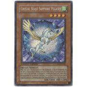 CT04-EN002 Crystal Beast Sapphire Pegasus Secret Rare