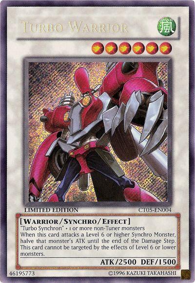 CT05-EN004 Turbo Warrior Secret Rare
