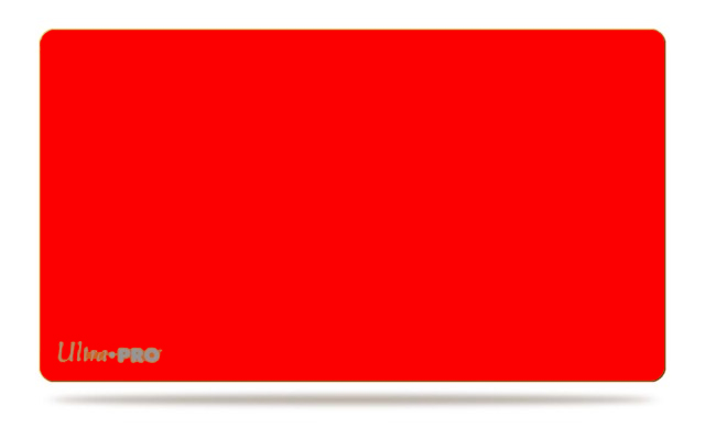 Tapis de jeu Rouge