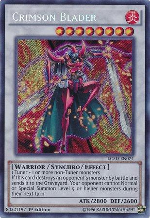 LC5D-EN074 Crimson Blader Secret Rare