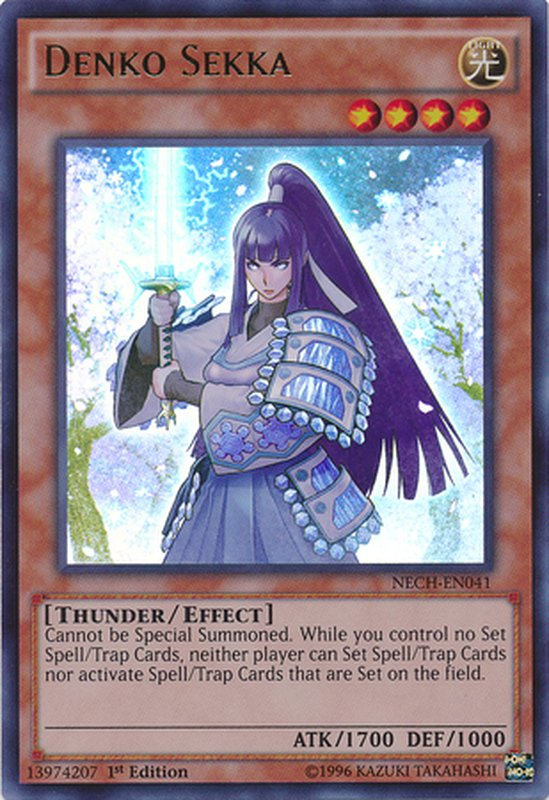 NECH-EN041 Denko Sekka Ultra Rare
