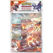 Portfolio Pokémon Kyogre + 1 booster XY 5 Primo Choc