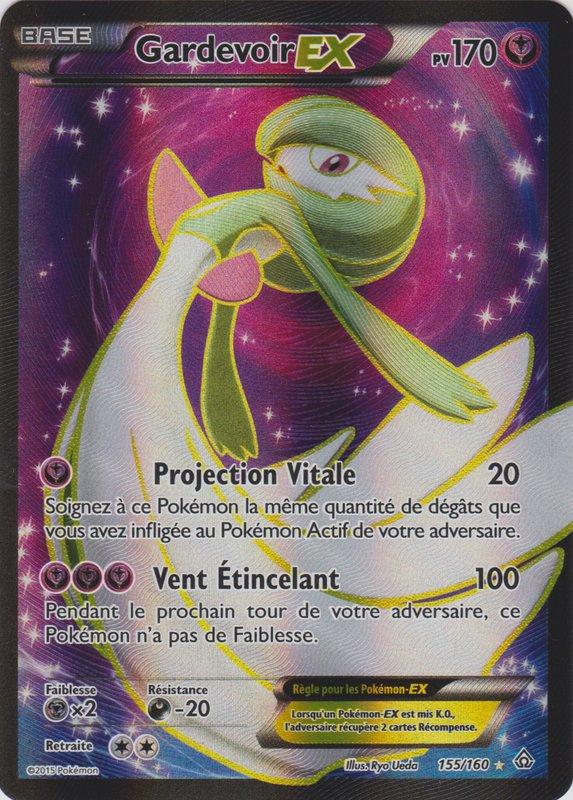 Xy5 155 160 gardevoir ex - Carte pokemon fee ...