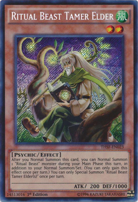 THSF-EN023 Ritual Beast Tamer Elder Secret Rare