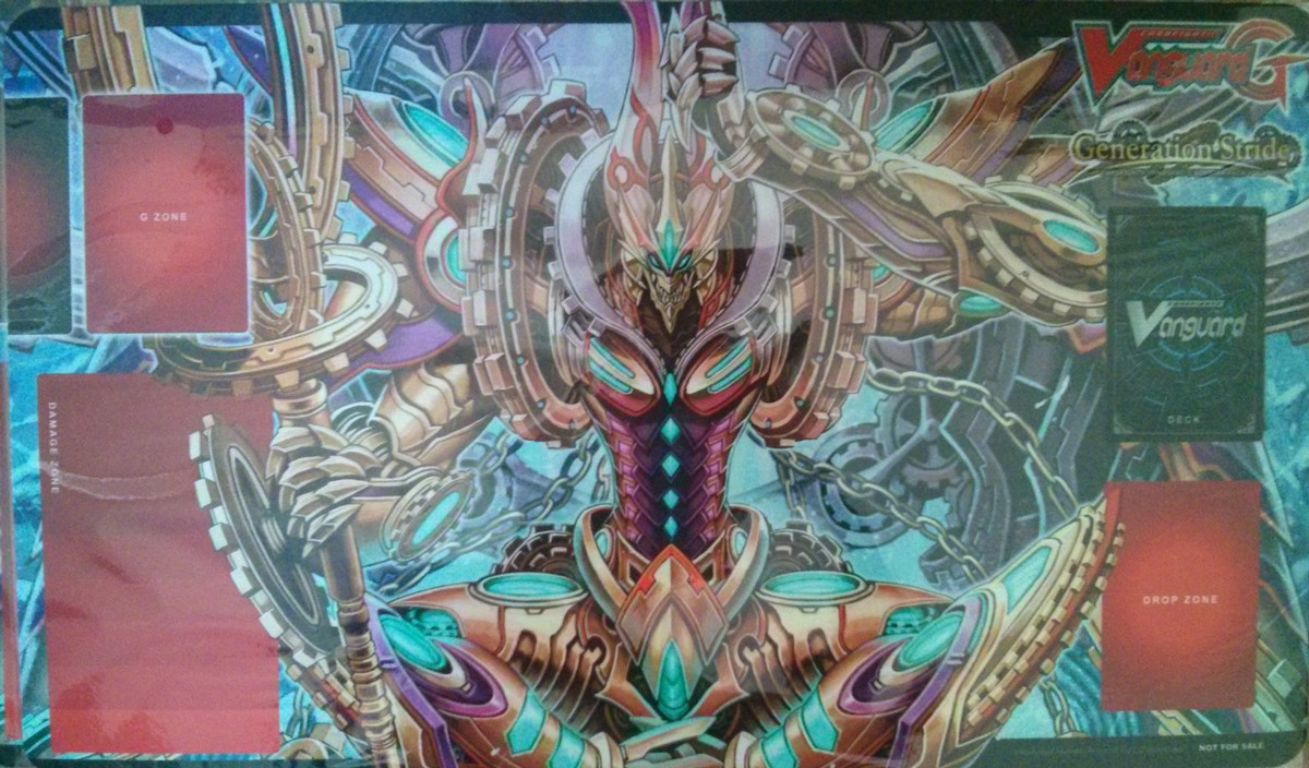 Tapis Cardfight Vanguard G Interdimensional Dragon, Chronoscommand Dragon