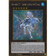PGL2-FR018 Numéro 21 : Dame Justice de Glace Gold Secret Rare