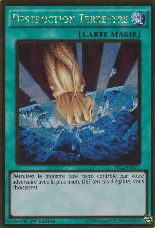 YU-GI-Oh Destruction Terrestre GLD3-FR042