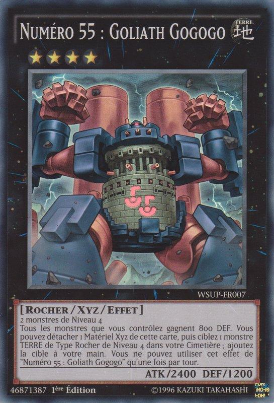 WSUP-FR007 Numéro 55 : Goliath Gogogo Super Rare