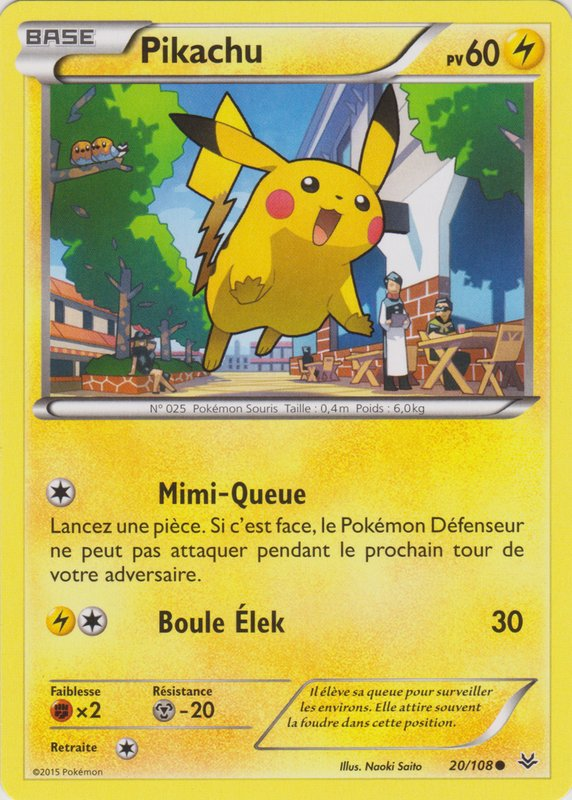 XY6_20/108 Pikachu Commune