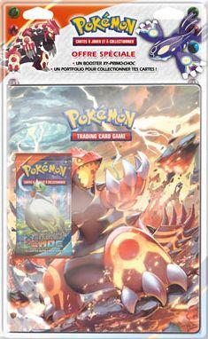 Portfolio Pokémon Kyogre + 1 booster XY 6 Ciel Rugissant