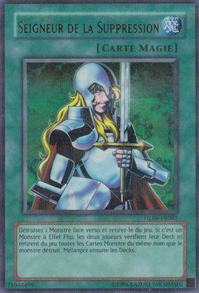 HL06-FR001 Seigneur de la Suppression Holographic Rare