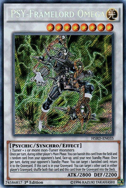 HSRD-EN035 PSY-Framelord Omega Secret Rare