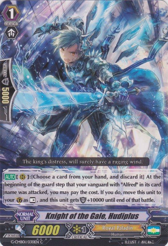 G-CMB01/030EN Knight of the Gale, Hudiplus Commune (C)