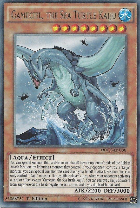 DOCS-EN088 Gameciel, the Sea Turtle Kaiju Rare