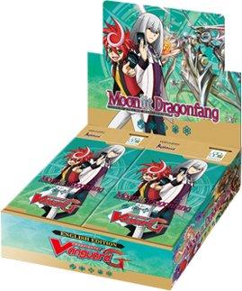 4 Boites de 30 Boosters Moonlit Dragonfang (G-BT05)