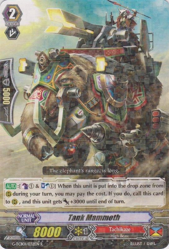 G-TCB01/032EN Tank Mammoth Rare (R)