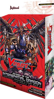 Start Deck Odyssey of the Interspatial Dragon (G-SD01)