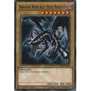 MIL1-FR027 Dragon Noir aux Yeux Rouges Commune
