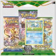 Pack 3 Boosters Pokémon XY 10 Impact des Destins - Version Grenousse
