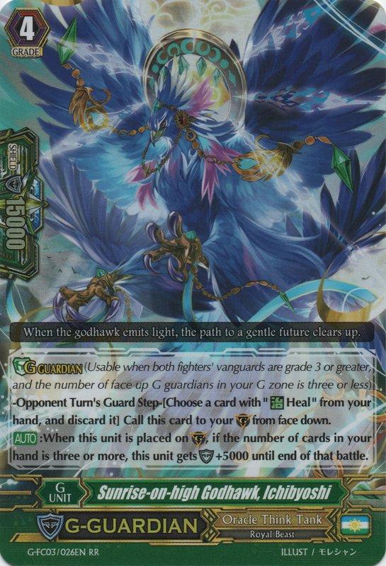 G-FC03/026EN Sunrise-on-high Godhawk, Ichibyoshi Double Rare (RR)