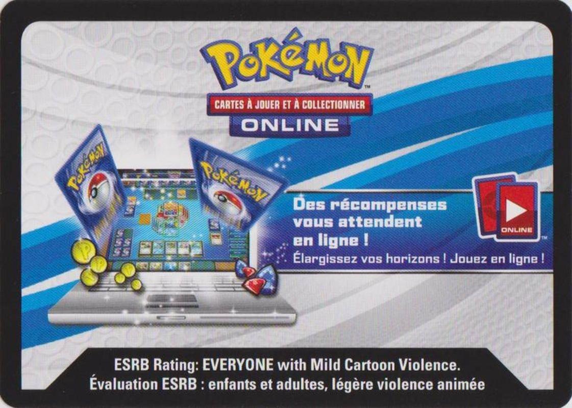 Code pour Booster Pokémon XY 11 Offensive Vapeur