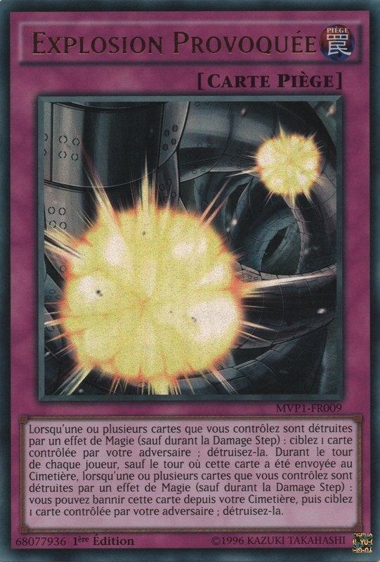 MVP1-FR009 Explosion Provoquée Ultra Rare