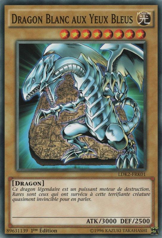 LDK2-FRK01C Dragon Blanc aux Yeux Bleus Commune